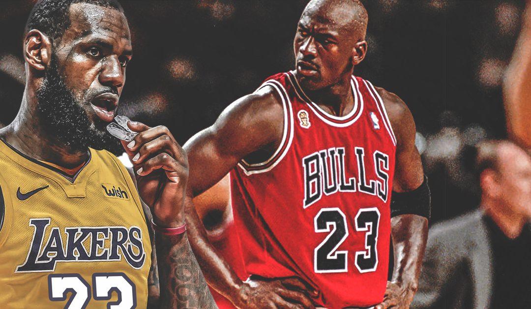 pretty nice 09794 241ea LeBron vs. the G.O.A.T. | Unwrapped Sports