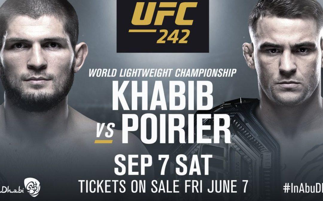 UFC 242 Predictions