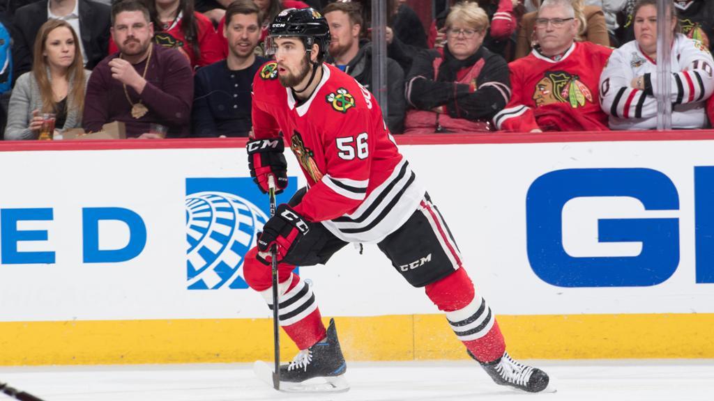 Blackhawks Trade Gustafsson to Flames
