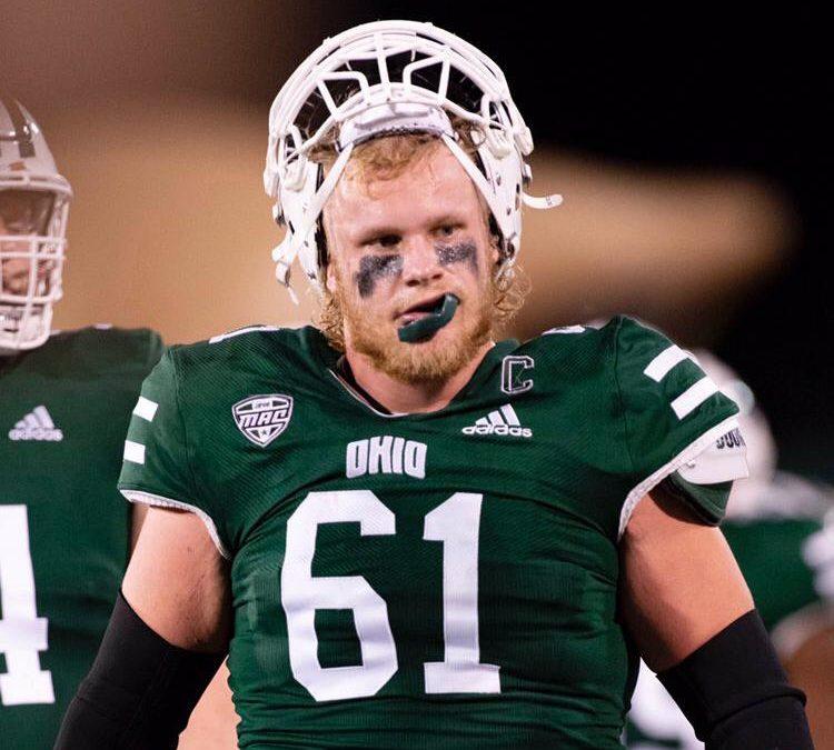 2021 NFL Draft Prospect- Brett Kitrell C Ohio